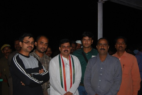 Speaker with Hyticos Team - NagarJunaSagar Srisailam Tiger Reserve