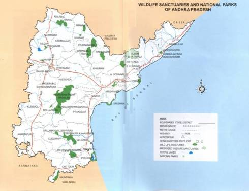 Protected Area Map of AP